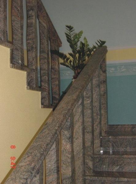 Kinava Classico gránit baluszteres korlát és fogódzó