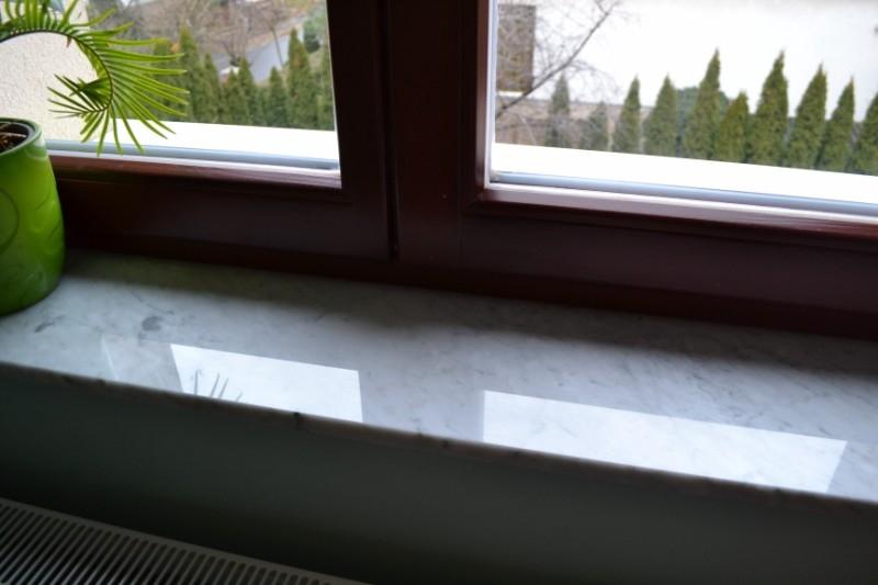 Bianco Carrara 2 cm vastag beltéri márvány ablakpárkány