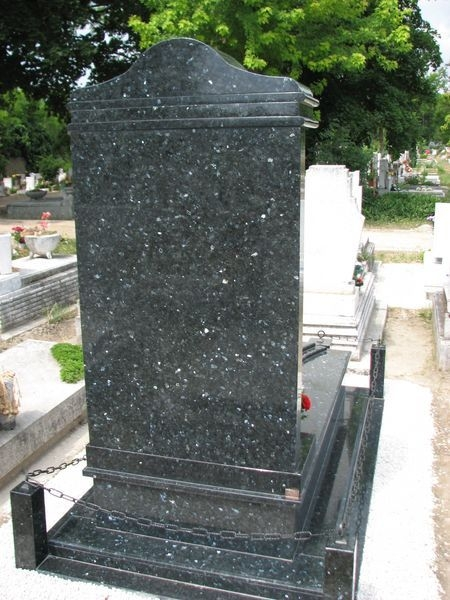 Labrador Emerald Pearl szimpla gránit sírkő